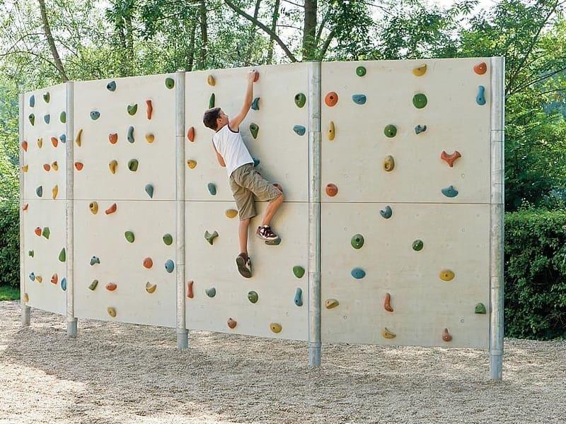 Parete Scalata Bambini : Parete arrampicata free climbing per bambini narciso sport project
