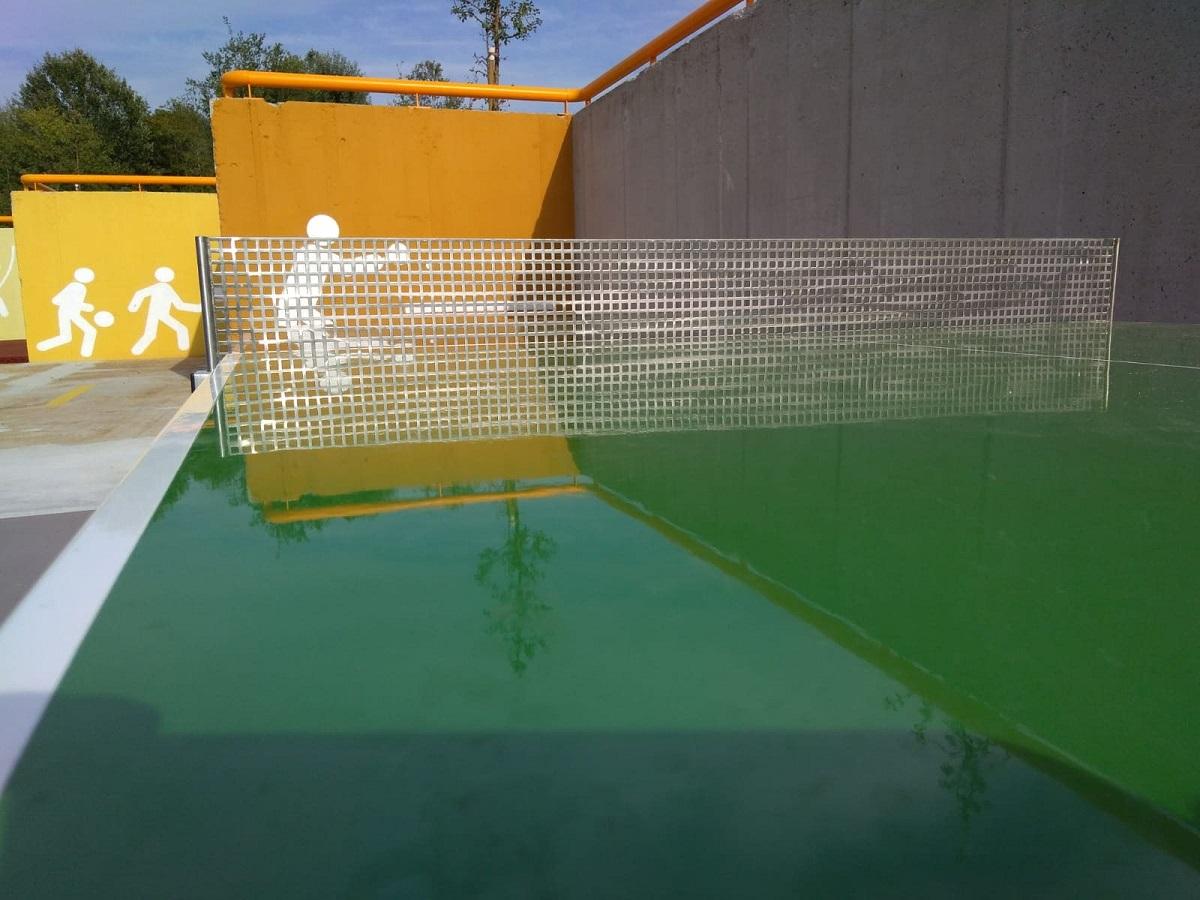 Tavolo da ping pong da esterno in calcestruzzo | NARCISO ...